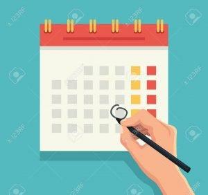 Kako naj ob službi najdem čas za naju - koledar